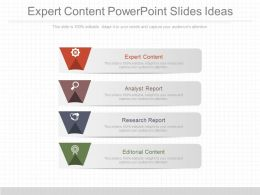Expert Content Powerpoint Slides Ideas