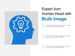 Expert Icon Human Head With