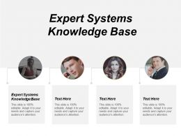 Expert Systems Knowledge Base Ppt Powerpoint Presentation Gallery Backgrounds Cpb