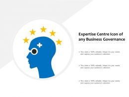 Expertise Centre Icon Of Any Business Governance