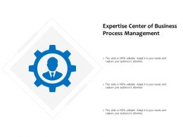 Expertise Centre Of Business Process Management