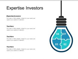 Expertise Investors Ppt Powerpoint Presentation Summary Background Cpb