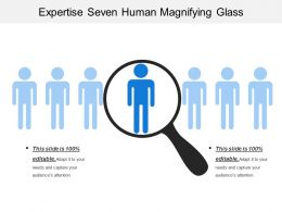 Expertise Seven Human Magnifying Glass