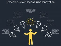 Expertise Seven Ideas Bulbs Innovation