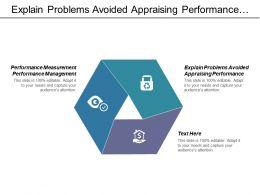 explain_problems_avoided_appraising_performance_performance_measurement_performance_management_cpb_Slide01