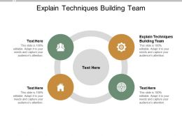 Explain Techniques Building Team Ppt Powerpoint Presentation Infographic Template Cpb