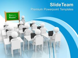 Explaining Mission To Every Team Member PowerPoint Templates PPT Backgrounds For Slides 1113