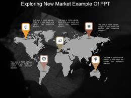 Exploring New Market Example Of Ppt