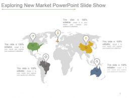 Exploring New Market Powerpoint Slide Show