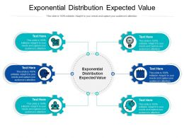 Exponential Distribution Expected Value Ppt Powerpoint Presentation Infographic Template Cpb