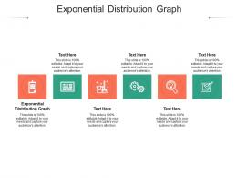 Exponential Distribution Graph Ppt Powerpoint Presentation Model Templates Cpb