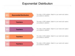 Exponential Distribution Ppt Powerpoint Presentation Model Gridlines Cpb