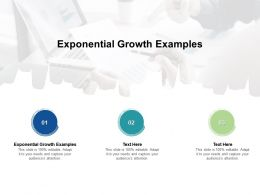 Exponential Growth Examples Ppt Powerpoint Presentation Inspiration Elements Cpb