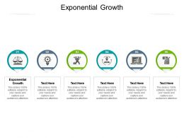 Exponential Growth Ppt Powerpoint Presentation Layouts Background Cpb