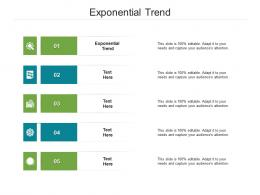 Exponential Trend Ppt Powerpoint Presentation Inspiration Templates Cpb