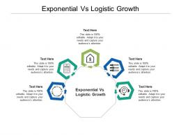 Exponential Vs Logistic Growth Ppt Powerpoint Presentation Styles Slides Cpb