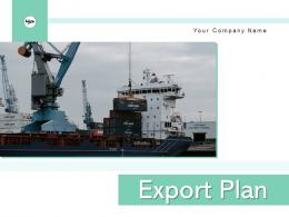 Export Plan Strategy Competitive Manufacturing Business Research Marketing
