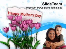 Express Gratitude To Moms On Mothers Day PowerPoint Templates PPT Themes And Graphics 0513