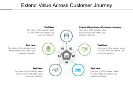 Extend Value Across Customer Journey Ppt Powerpoint Presentation Graphics Download Cpb