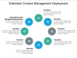 Extended Content Management Deployment Ppt Powerpoint Presentation Icon Skills Cpb
