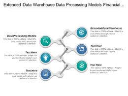 Extended Data Warehouse Data Processing Models Financial Reporting