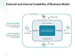 External And Internal Scalability Of Business Model