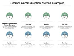 External Communication Metrics Examples Ppt Powerpoint Presentation Portfolio Icon Cpb