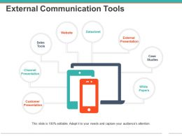 External Communication Tools Powerpoint Guide