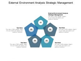 External Environment Analysis Strategic Management Ppt Powerpoint Presentation Inspiration Cpb