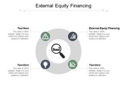 External Equity Financing Ppt Powerpoint Presentation Model Clipart Cpb