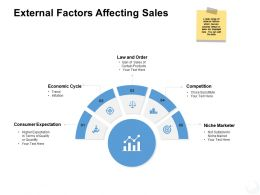 External Factors Affecting Sales Competition Powerpoint Presentation Infographics Deck