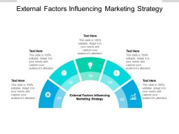 External Factors Influencing Marketing Strategy Ppt Powerpoint Presentation Outline Influencers Cpb