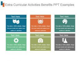 Extra Curricular Activities Benefits Ppt Examples