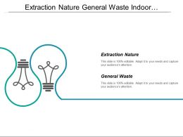 Extraction Nature General Waste Indoor Environmental Quality