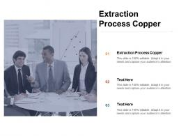Extraction Process Copper Ppt Powerpoint Presentation Layouts Design Ideas Cpb