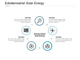 Extraterrestrial Solar Energy Ppt Powerpoint Presentation Pictures Shapes Cpb