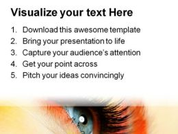 Eye Fashion Beauty PowerPoint Template 0910  Presentation Themes and Graphics Slide03