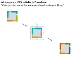 fa_four_colored_interconnected_arrows_flat_powerpoint_design_Slide02