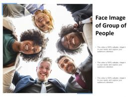 Face Image Of Group Of People