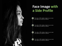 Face Image With A Side Profile