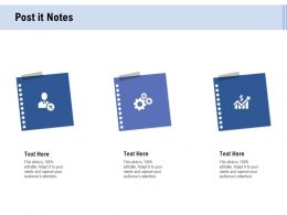 Facebook Advertising Post It Notes Ppt Powerpoint Presentation Summary Styles