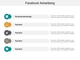 Facebook Advertising Ppt Powerpoint Presentation Infographics Deck Cpb