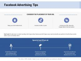 Facebook Advertising Tips Ppt Powerpoint Presentation Gallery Visual Aids