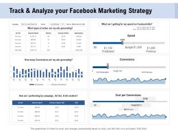 Facebook Advertising Track And Analyze Your Facebook Marketing Strategy Ppt Powerpoint Presentation