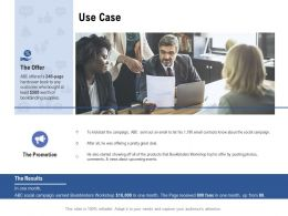 Facebook Advertising Use Case Ppt Powerpoint Presentation Pictures Smartart