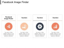 Facebook Image Finder Ppt Powerpoint Presentation Portfolio Introduction Cpb