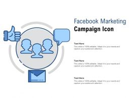 Facebook Marketing Campaign Icon
