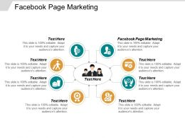 Facebook Page Marketing Ppt Powerpoint Presentation Inspiration Guide Cpb