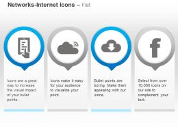 Facebook Wifi Data Download Network Ppt Icons Graphics