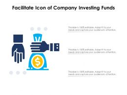Facilitate Icon Of Company Investing Funds